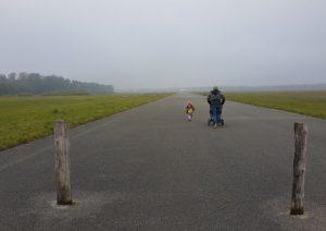 Landingsbaan Vliegveld Twente