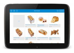 Tiefkühl Backwaren für die Gastronomie EDNA Zutaten-App