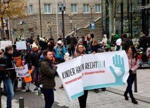 Kinderrechte-Demo 2018 in Stuttgart