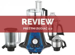 Preethi Zodiac 2.0 Review India