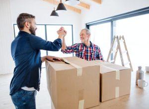 elderly parents to move