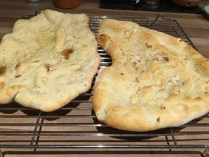 Garlic Naan Recipe - Easy Naan bread recipe which tastes incredible! This Garlic Naan Recipe is perfect addition to any curry - http://www.amateurchef.co.uk