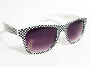 Wayfarer Checkmate (hvit/svart) - Wayfarer solbrille