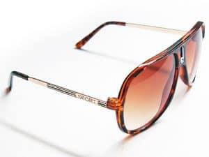 Aviator Sport (svart) - Vintage solbrille