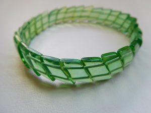 pulsera de ambar verde