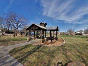 Panther Creek Estates Pavilion in the Park