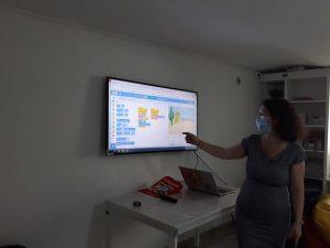 Lecția demonstrativă de programare pentru copii organizată de Iotesa Kids la Exploratorii Cunoașterii din Timișoara