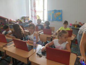 Curs programare pentru copii cu Iotesa Kids la Fritzi After School Timișoara - Jocul cu mâncare3