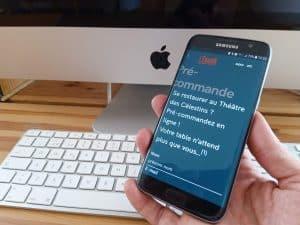 Application mobile letourdi precommande