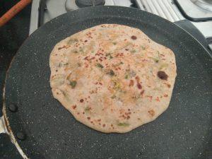 Piping hot Mooli Ka Paratha