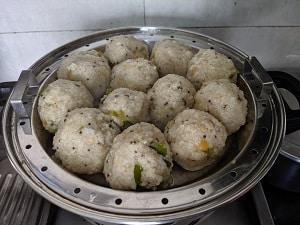 Steamed Millet Kozhukattai is ready to serve
