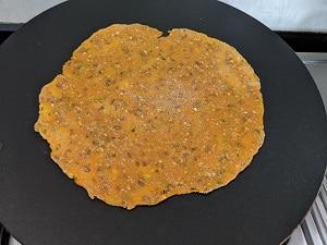 Lauki thepla cooking ontawa