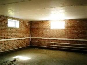 Ремонт подвального и полуподвального помещения