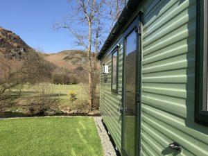 Willerby Impression 2018 front door