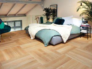 Patroon houten vloer