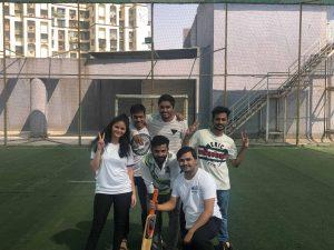 Cricket match at Eiosys, Life at Eiosys,