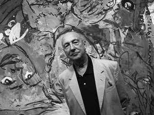 Der deutsche Maler und Bildhauer Georg Baselitz