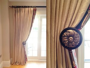 Blackout Curtains, Curtain Poles - Material Concepts Battersea, London-11