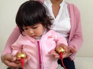 Bioresonanztherapie bei einem Kleinkind