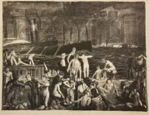 "George Bellows, ""Splinter Beach"", 1916"