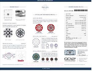 Blue Nile Signature round diamond reviews, LD06086674, GIA 6157978722, GCAL 251910036