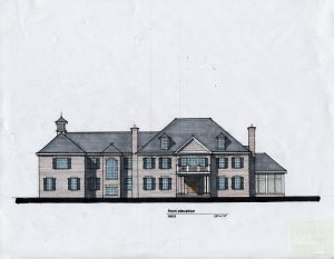 Greenwich CT Custom Home Design by DeMotte Architects