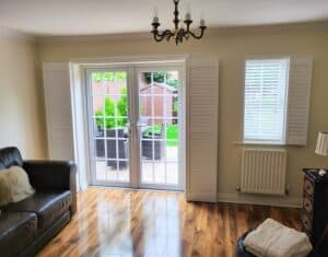 Track Shutters For French Doors