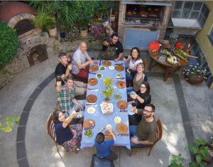 Authentic Asado tour guests, Buenos Aires
