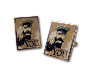 Your country Needs You cufflinks