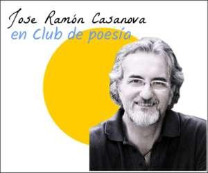 Jose Ramón Casanova en club de poesía