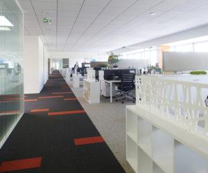 Agencement de bureaux ouvert