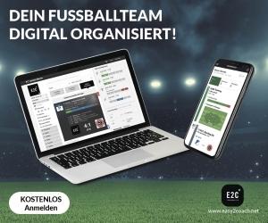 Teamorganisation per App und Web im Fußball