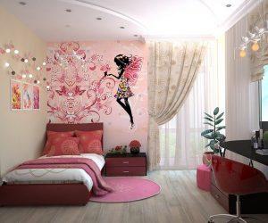 Jugendzimmer für Mädchen