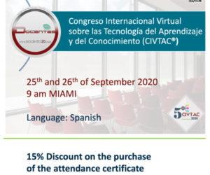Congreso Internacional Virtual sobre las Tecnologia del Aprendizaje y del Conocimiento (CIVTAC)