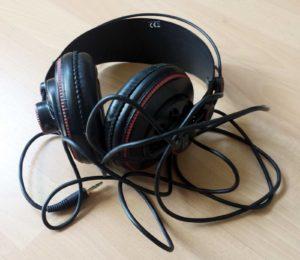 Geschenk #1 von Leser Daniwürg aus Berlin: Einen Kopfhörer von meinem Thomann-Wunschzettel