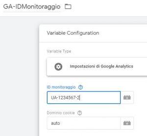 Google Tag Manager: impostare tracciamento sotto-dominio
