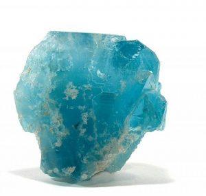 piedra de opalo azul en bruto