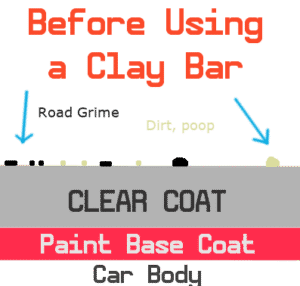 paint before a clay bar