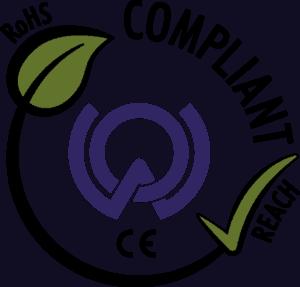 WOE RoHS REACH Logo