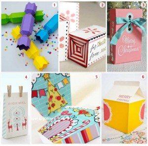 Printable Christmas Boxes