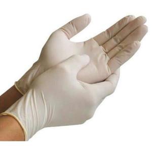 Перчатка Латексная Белая
