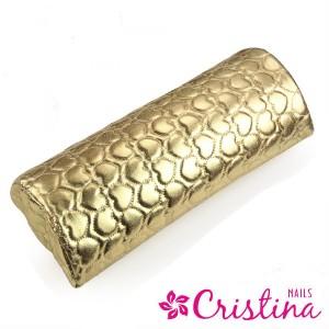 Подушка под локоть золото