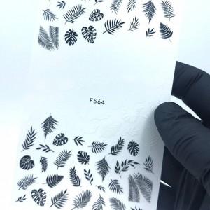 наклейка для ногтей 564