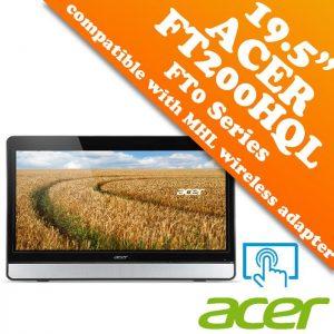 ACER Monitor LED Touchscreen FT200HQL