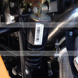 Амортизатор кабины задний усиленный DZ13241440150 арт. DZ1640440015 для китайских грузовиков Shacman со склада в Новосибирске.
