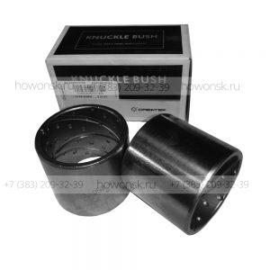 Втулка шкворня верхняя 6х4 ( 49.5х58х52 ) арт. 81.93020.0706 для китайских большегрузов Shacman оптом и в розницу.