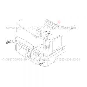 Схема расположения - Бачок стеклоомывателя для ремонта китайских грузовиков SHACMAN