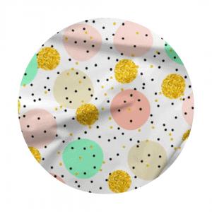 pastel dots fabric
