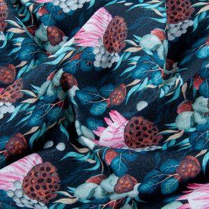 Co uszyć z tkanin w botaniczne wzory?