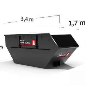 Container Mulde mit 7 m³